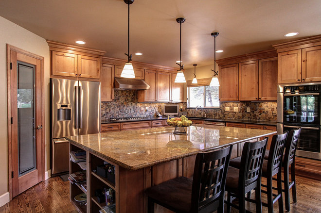 Traditional Kitchen by CapStone Home Renovations