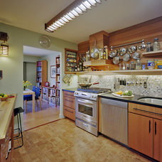 Contemporary Kitchen by Abrams Design Build