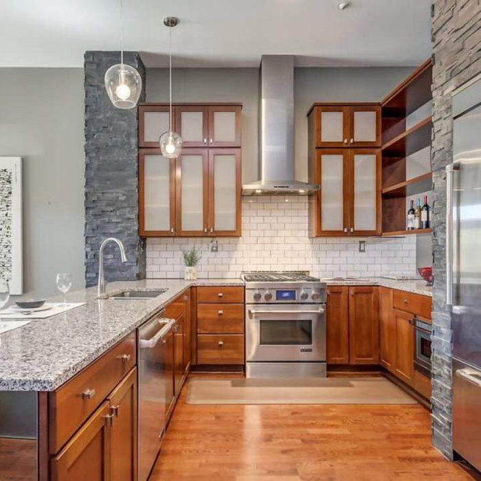 Parkview Townhome Kitchen