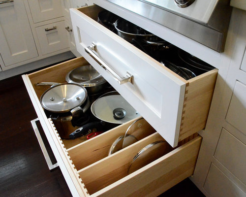 Pot Pan Drawer Home Design Ideas, Pictures, Remodel and Decor
