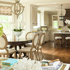 Traditional Kitchen by Martha O'Hara Interiors
