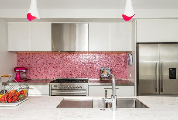 Contemporary Kitchen by Suzanne Allen Design