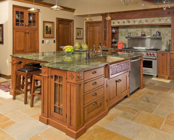 Craftsman Kitchen by Jay Rambo Co.