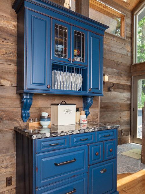 Blue Kitchen Design Ideas Renovations Amp Photos With