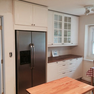 Parsippany, NJ IKEA Kitchen Install - Bodbyn door and drawer fronts.