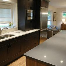 Transitional Kitchen by Adam Hartig