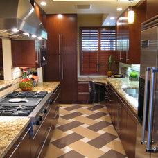 Contemporary Kitchen by Marlene Oliphant Designs LLC