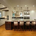VR Bas Relief Backsplash - Traditional - Kitchen ...