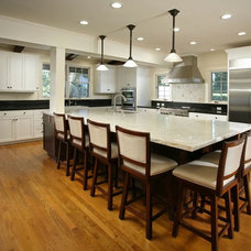 Traditional Kitchen by Cynthia Bennett & Associates