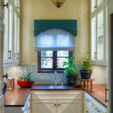 Mediterranean Kitchen by Parker West Interiors