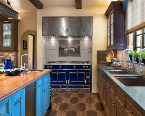 Delightful ... Glass Countertops Los Angeles By Water Spigot Above Stove Home Design  Ideas Pictures ...