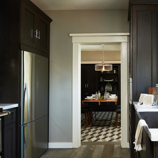 Pasadena Showcase House for the Arts 2015 Carriage House Kitchen and Dining Room