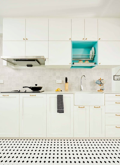 Eclectic Kitchen by Versaform