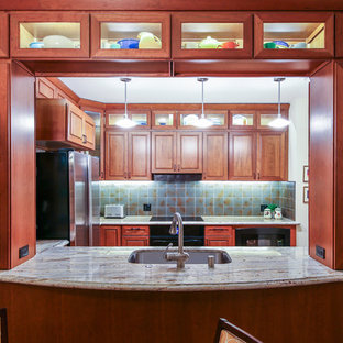 Pass Through Window, and Glass Door Cabinetry
