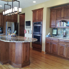 Transitional Kitchen by Coggin Brothers, Inc.