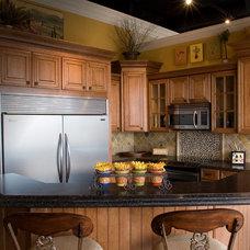 Traditional Kitchen by Stephen U Olsen Jr- Stine