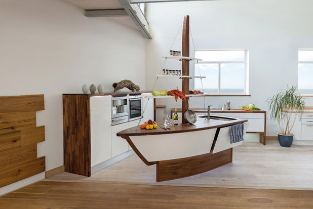 Cook Up A Quirky Kitchen With An Unconventional Island