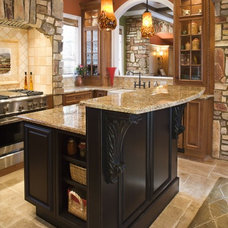 Traditional Kitchen by Assyrian Star Construction Inc