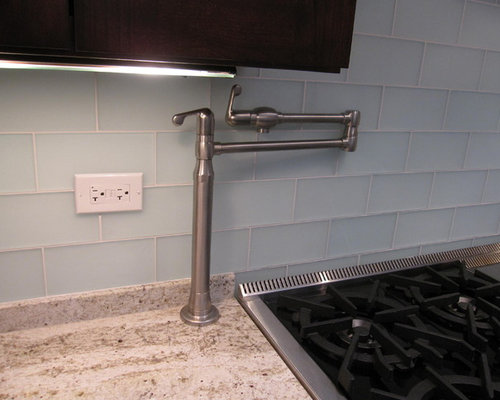 Counter Mounted Pot Filler Ideas Pictures Remodel And Decor