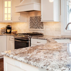 Transitional Kitchen by River Oak Cabinetry & Design