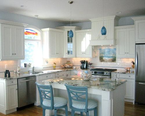 Beach Themed Kitchen   Houzz