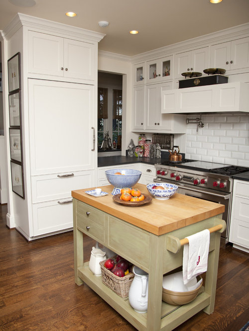 Built In Fridge | Houzz
