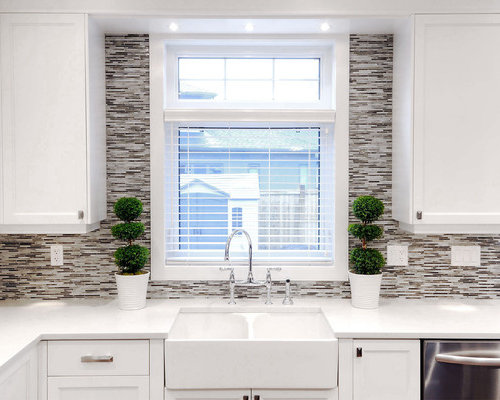 Tile Around Window Home Design Ideas Pictures Remodel