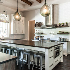 Transitional Kitchen by Van Wicklen Design