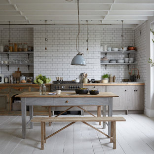 Annie Sloan Chalk Paint Paris Grey Kitchen Ideas & Photos ...