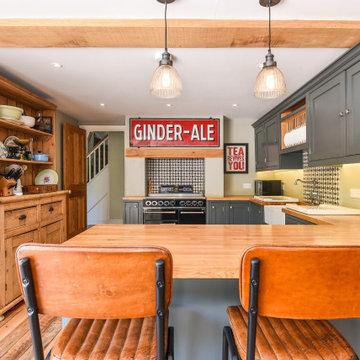 Pauls Stunning Quirky Kitchen