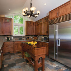 Craftsman Kitchen by Specialty Builders Remodeling,LLC
