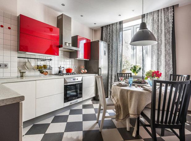 Скандинавский Кухня by Яшина Мария | Different Rooms