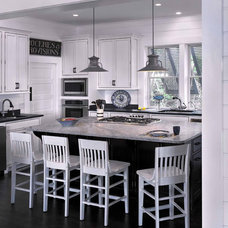 Beach Style Kitchen by Catalyst Architects, LLC