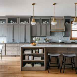 Transitional kitchen ideas - Inspiration for a transitional kitchen remodel in Chicago
