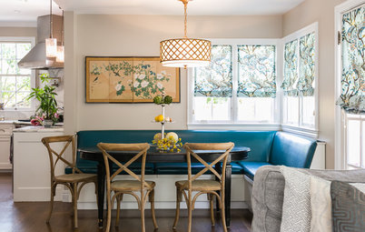 Photo Flip: 91 Kitchen Banquettes to Start Your Morning Right