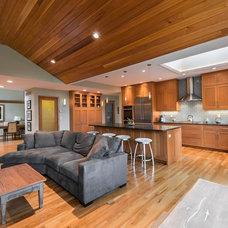 Contemporary Kitchen by Passacantando Architects AIA