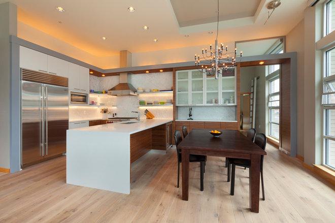 Modern Kitchen by Steelhead Architecture