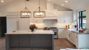 Pebble Beach CA - Custom Painted kitchen