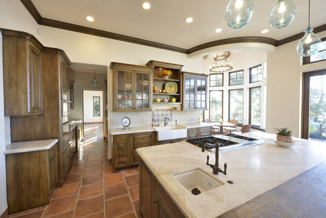 Traditional Kitchen by Carmel Stone Imports