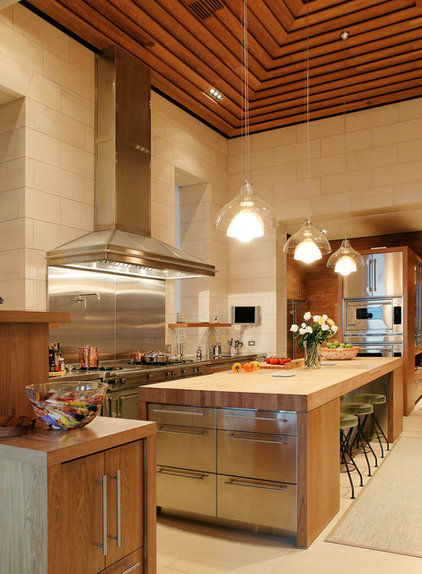 Contemporary Kitchen by BAR Architects