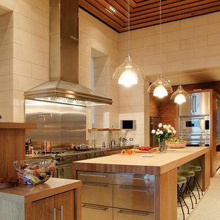 Idéer för funkis kök, med rostfria vitvaror