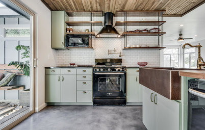 New This Week: 4 Kitchens That Rock Industrial Style