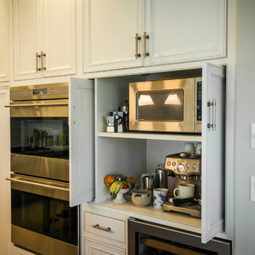 Pelavin Gray Rustic Kitchen Remodel - Crystal Cabinetry