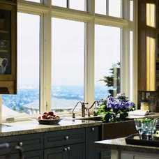Contemporary Kitchen by Pella Windows and Doors