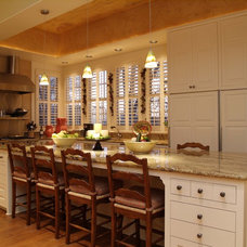 Traditional Kitchen by Greg Logsdon