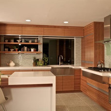 Contemporary Kitchen by Jesse Bay Cabinet Co.