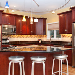 traditional kitchen by Carol Tracy Designs, LLC
