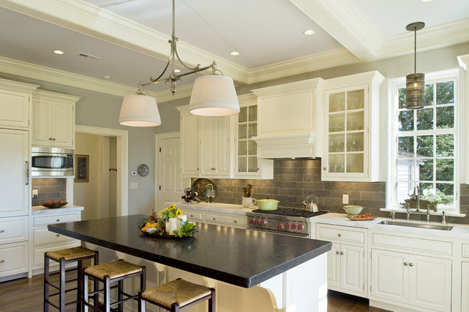 Traditional Kitchen by Dewson Construction Company