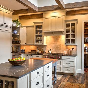 Pennsylvania Farmhouse Inspired Kitchen