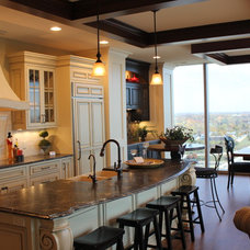 Traditional Kitchen by Gallery Interiors and Rockford Kitchen Design